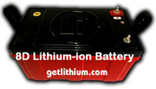 lightweight, powerful lithium-ion batteries last up to 20 years!