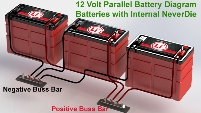 12 Volt 2 Battery Rv System : Volt a h high performance lithium ion rv marine