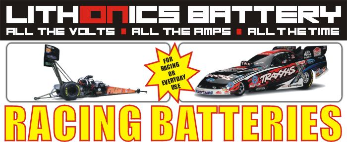 Lithionics Battery 12 Volt carbon fiber lithium-ion car racing battery