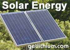 Click here to find out more about our lithium-ion batteries and solar power systems